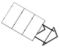 Vertical Roof Mount